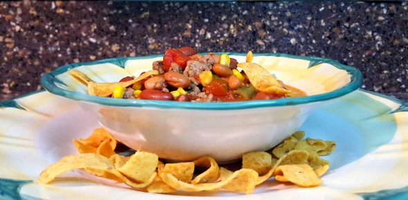 My friend Tiffany's Taco Soup