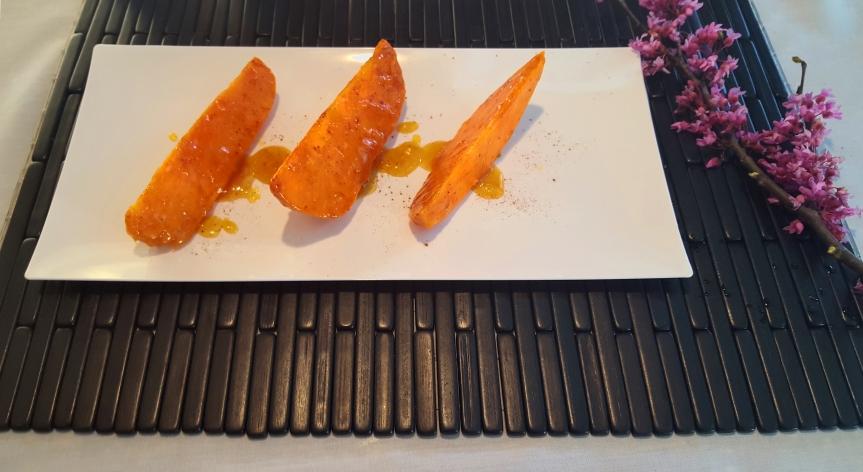 Honey Glazed Sweet Pototes