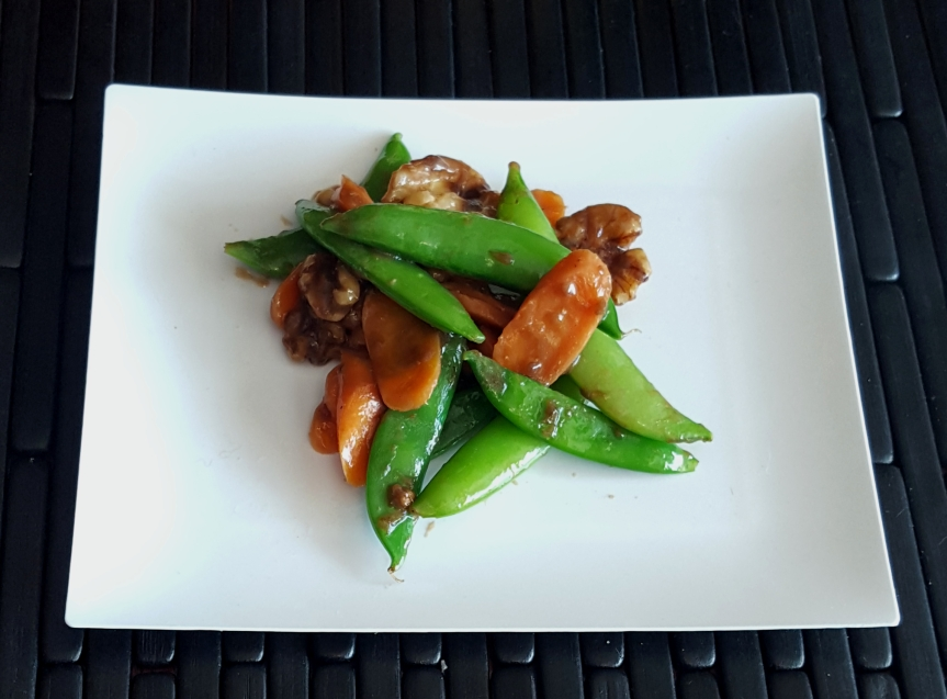 Oriental Pea Pods AndCarrots