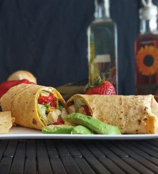 Turkey Caesar Wrap