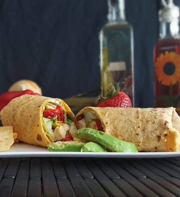 Turkey Caesar Wrap