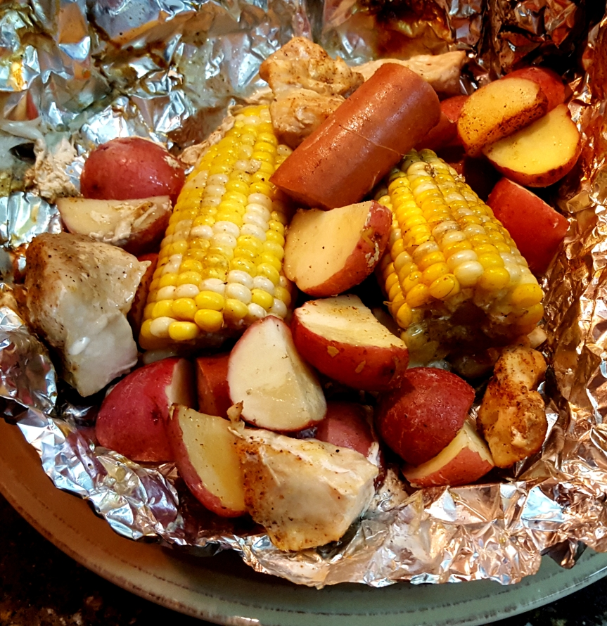 Cajun-Style Grilled Foil Packets