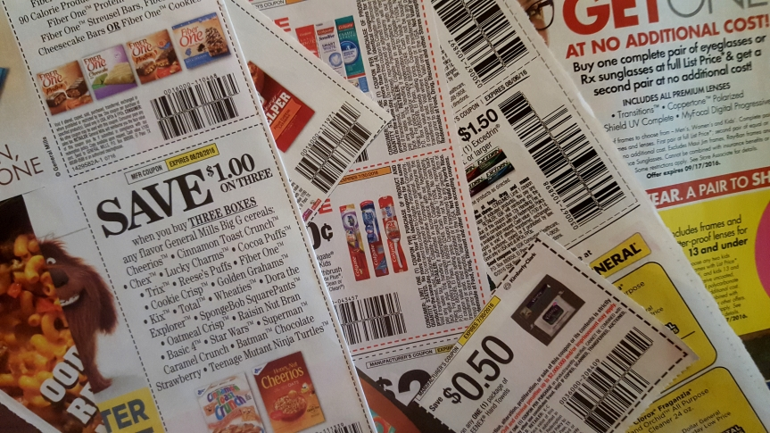 Why my kids don't allow couponing